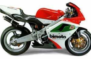 Bimota 500 Vdue Evoluzione Corsa 2001-2003. En given klassiker.